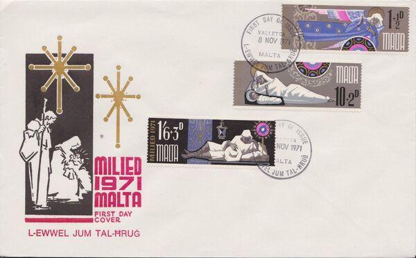 Malta 1971 Christmas h