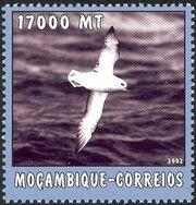 Mozambique 2002 The World of the Sea - Sea Birds 2 b