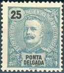 Ponta Delgada 1897 D. Carlos I f