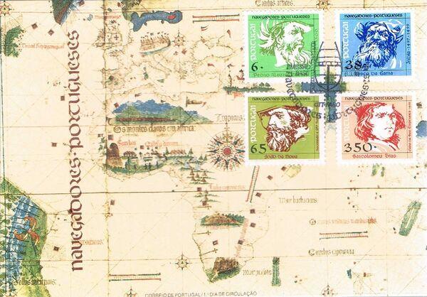 Portugal 1992 Portuguese navigators (3rd Issue) FDCa
