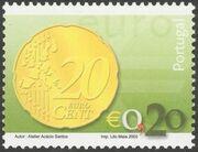 Portugal 2002 Euro e