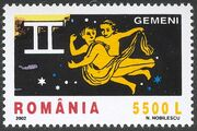 Romania 2002 The Signs of the Zodiac c