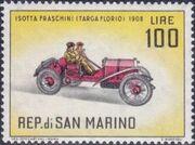 San Marino 1962 Automobiles (pre-1910) m