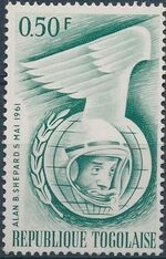 Togo 1962 Astronauts of 1961 a