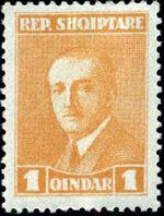 Albania 1925 President Ahmed Zogu a
