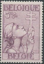Belgium 1933 Anti Tuberculosis - Lorraine Cross g
