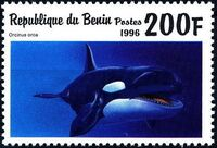 Benin 1996 Marine Mammals f