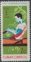 Cuba 1964 Summer Olympics - Tokyo b