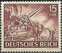 Germany-Third Reich 1943 Armed Forces and Heroes Day g