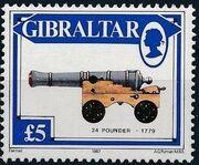 Gibraltar 1987 Guns and Artillery m