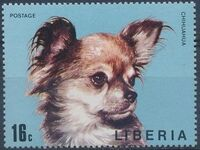 Liberia 1974 Dogs c
