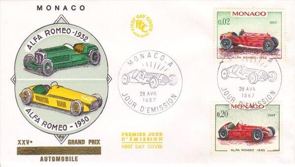 Monaco 1967 Automobiles p