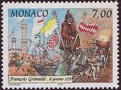 Monaco 1997 700th Anniversary of the Grimaldi Dynasty - 1st Serie a