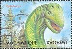 Mozambique 2002 Dinosaurs r