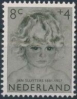 Netherlands 1957 Child Welfare Surtax - Girls' Portraits c