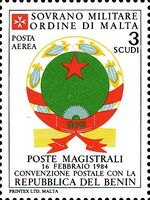 Sovereign Military Order of Malta 1986 Agreements Concluded by The Postal j