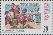 "Spain 1998 Scenes from ""Don Quixote"" c"