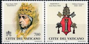 Vatican City 1998 The Popes and the Holy Years (1st Group) d