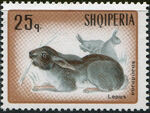 Albania 1967 Hares and Rabbits c