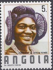Angola 1987 Traditional Hairstyles c