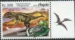 Angola 2018 Wildlife of Angola - Dinosaurs and Minerals a