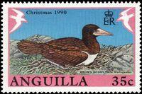 Anguilla 1990 Christmas - Birds b