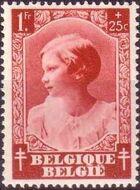 Belgium 1937 Princess Joséphine-Charlotte f