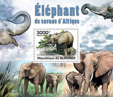 Burundi 2011 Elephants of the African Savanna SSf