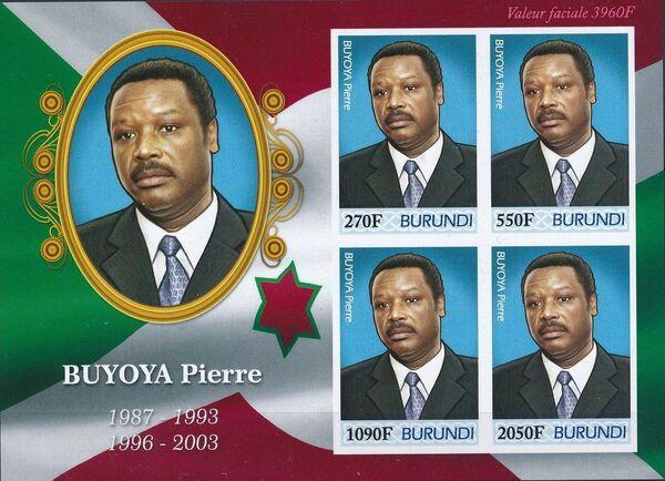 Burundi 2012 Presidents of Burundi - Pierre Buyoya h