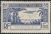 Dahomey 1940 Air Post Stamps a
