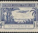 Dahomey 1940 Air Post Stamps
