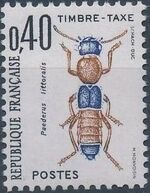 France 1983 Insects - Postage Due Stamps (2nd Issue) b