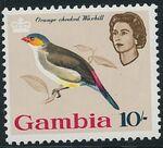 Gambia 1963 Birds l