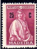 Madeira 1929 Ceres (London Issue) h