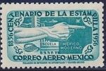 Mexico 1956 Centenary of Mexico's 1st Postage Stamps (Air Post Stamps) f