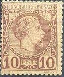 Monaco 1885 Prince Charles III d