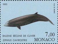 Monaco 1993 Musée Océanographique - Cétacés de la Méditerranée (2nd Group) d