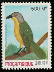 Mozambique 1992 Birds of Moçambique (4th Issue) e