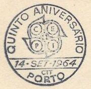 Portugal 1964 Europa PSMb