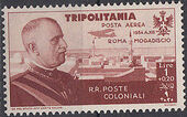Tripolitania 1934 65th Birthday of King Victor Emmanuel III and Flight Rome to Mogadiscio e