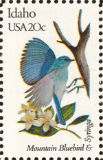 United States of America 1982 State birds and flowers k