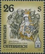 Austria 1995 Artworks from Pens and Monasteries (3rd Group) c