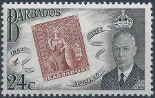 Barbados 1952 Centenary of Barbados Postage Stamps d