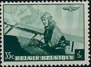 Belgium 1938 European Airmail Conference b