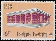 Belgium 1969 Europa b