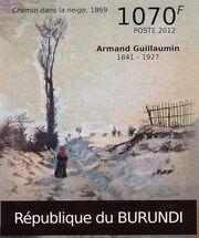 Burundi 2012 Paintings by Armand Guillaumin g