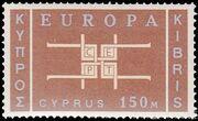 Cyprus 1963 Europa c