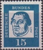 Germany, Federal Republic 1961 Famous Germans e