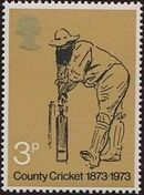 Great Britain 1973 Centenary of British County Cricket a