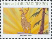 Grenada Grenadines 1988 The Disney Animal Stories in Postage Stamps 1i